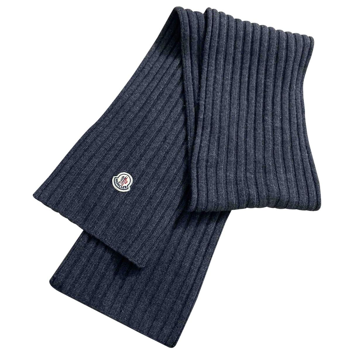 Moncler \N Wool scarf & pocket squares for Men \N