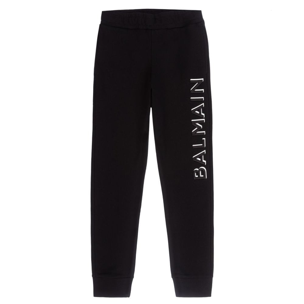 Balmain Joggers Colour: BLACK, Size: 10 YEARS