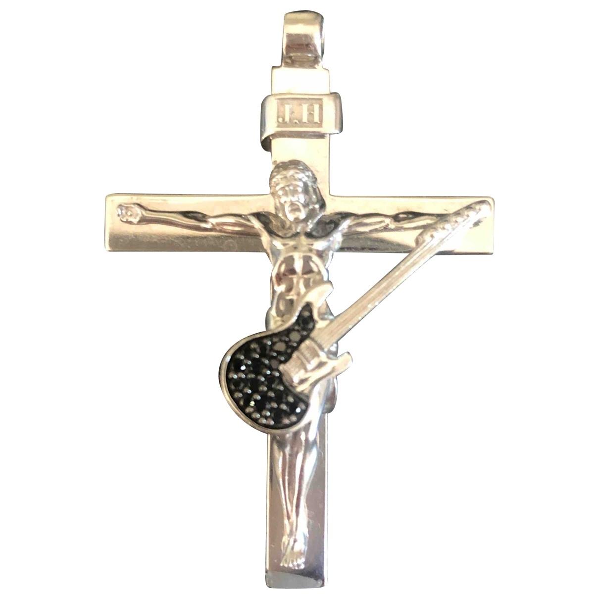 - Pendentif Croix pour femme en argent - argente