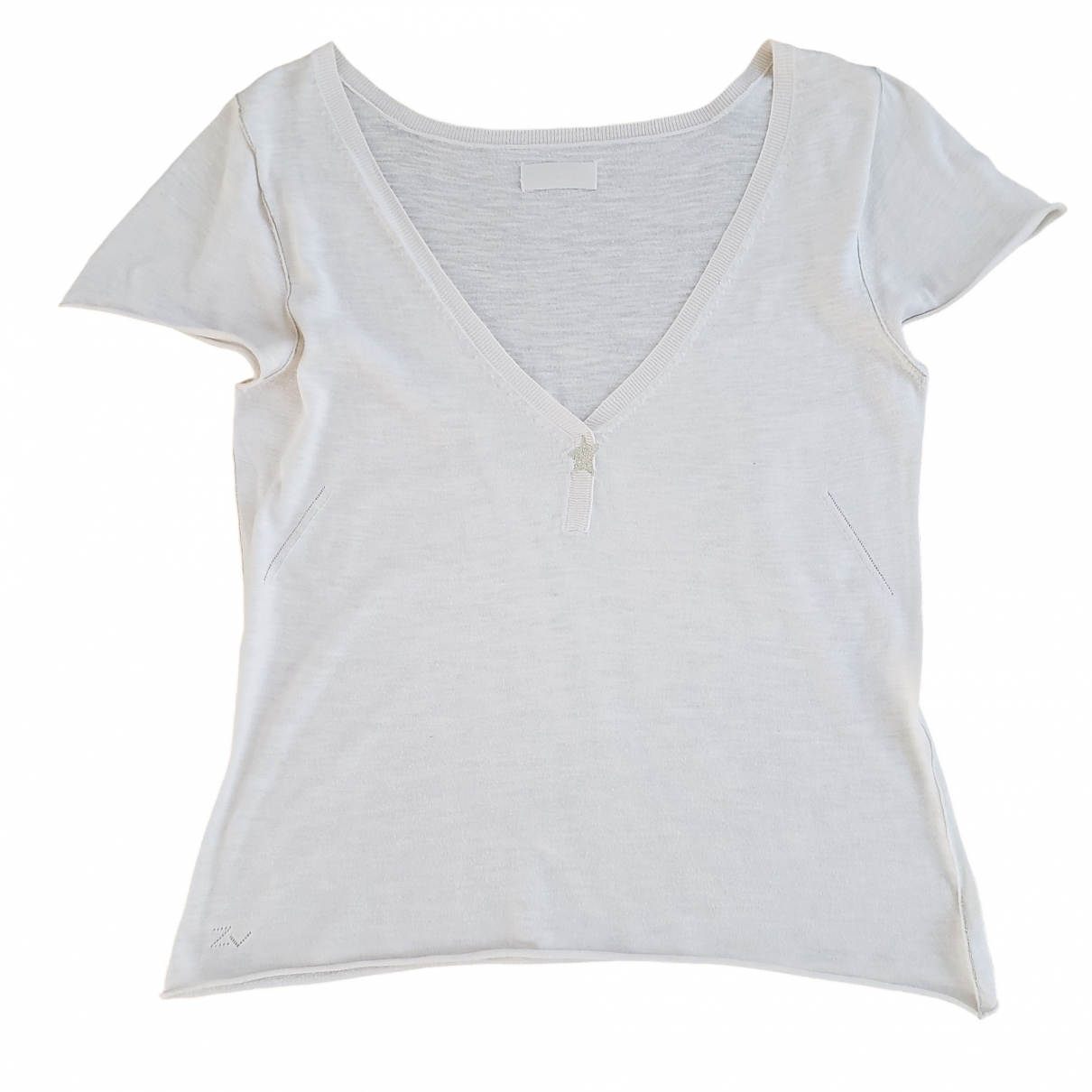 Zadig & Voltaire \N Beige Cotton  top for Women L International