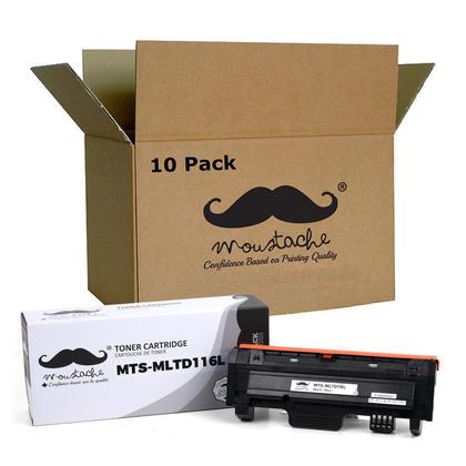 Compatible Samsung MLT-D116L cartouche de toner noire - Moustache - 10/paquet