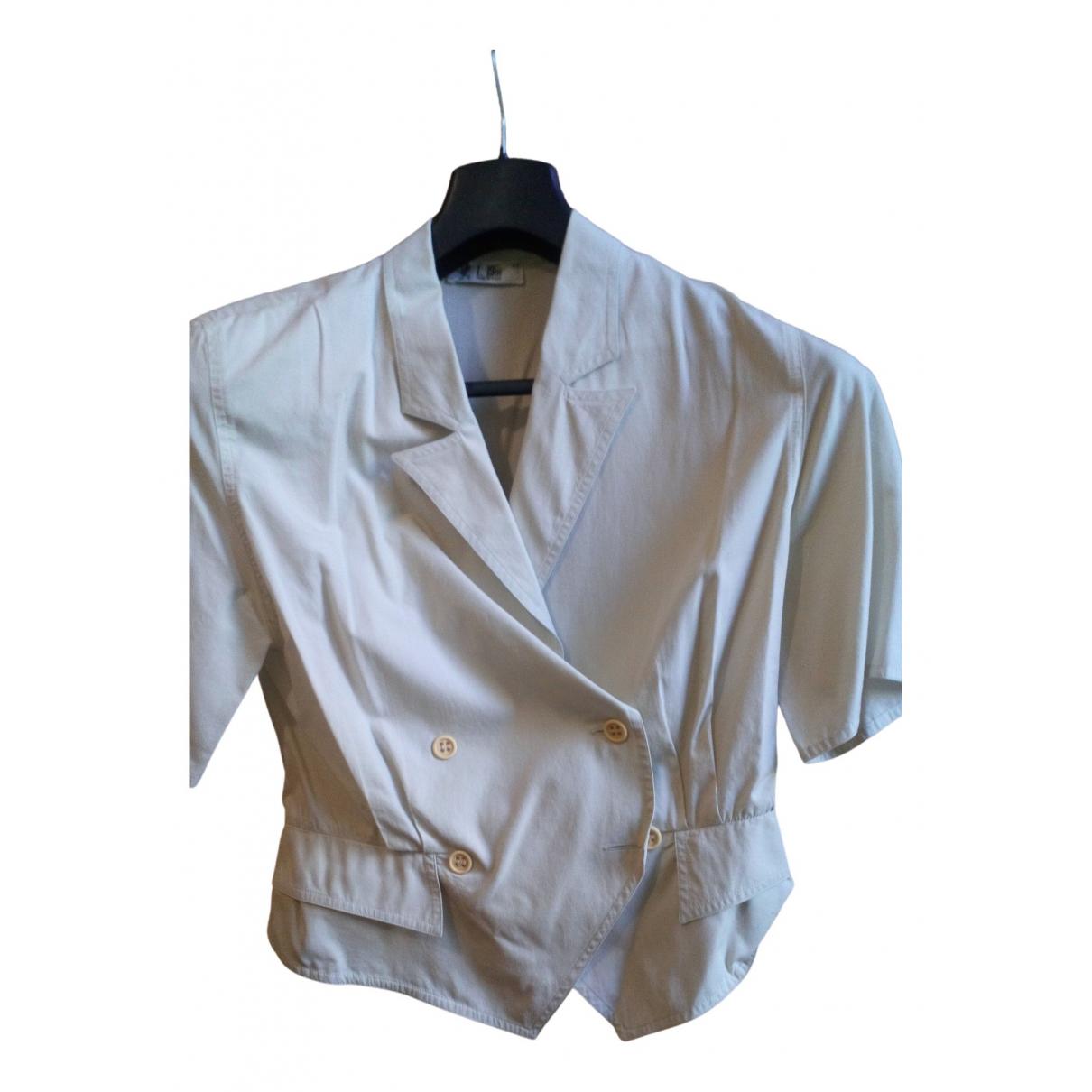 Cerruti N Beige Cotton  top for Women 42 IT