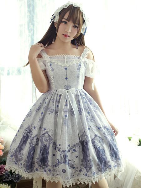 Milanoo Classic Lolita Jsk Jumper Skirt Neverland Nightmare Magic Spell Jumper Skirt Original Design