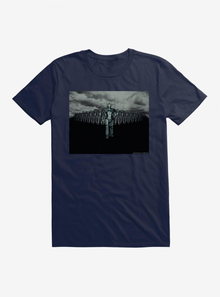 Doctor Who Cybermen March Walk T-Shirt