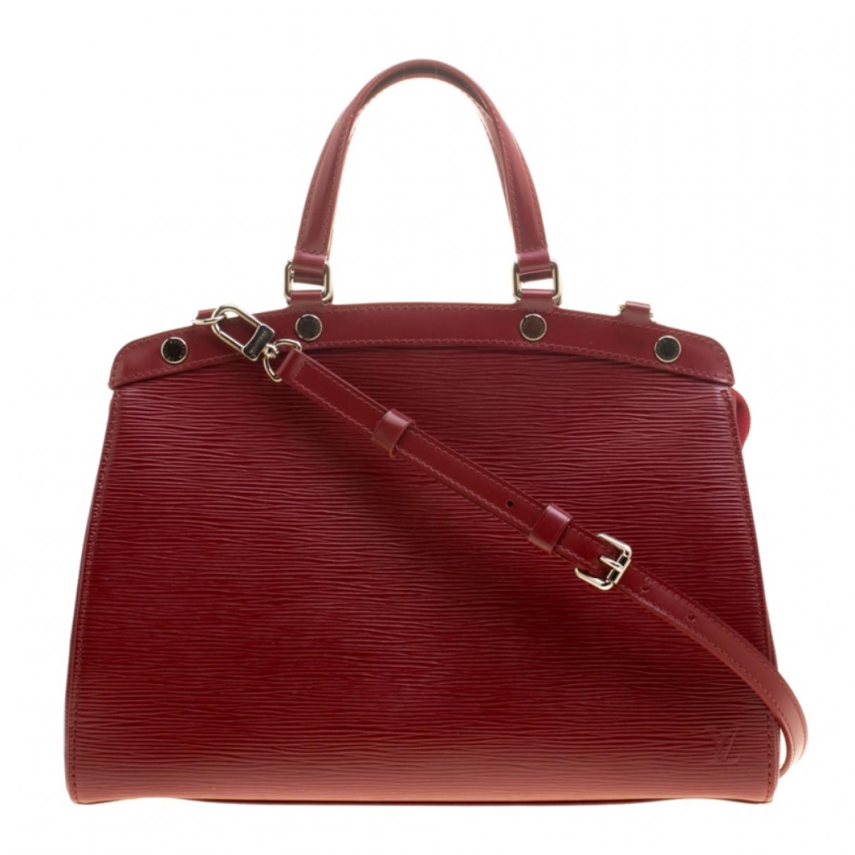 Louis Vuitton - Sac a main Brea pour femme en cuir - rouge