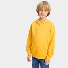 Jungen Plain Sweatshirt