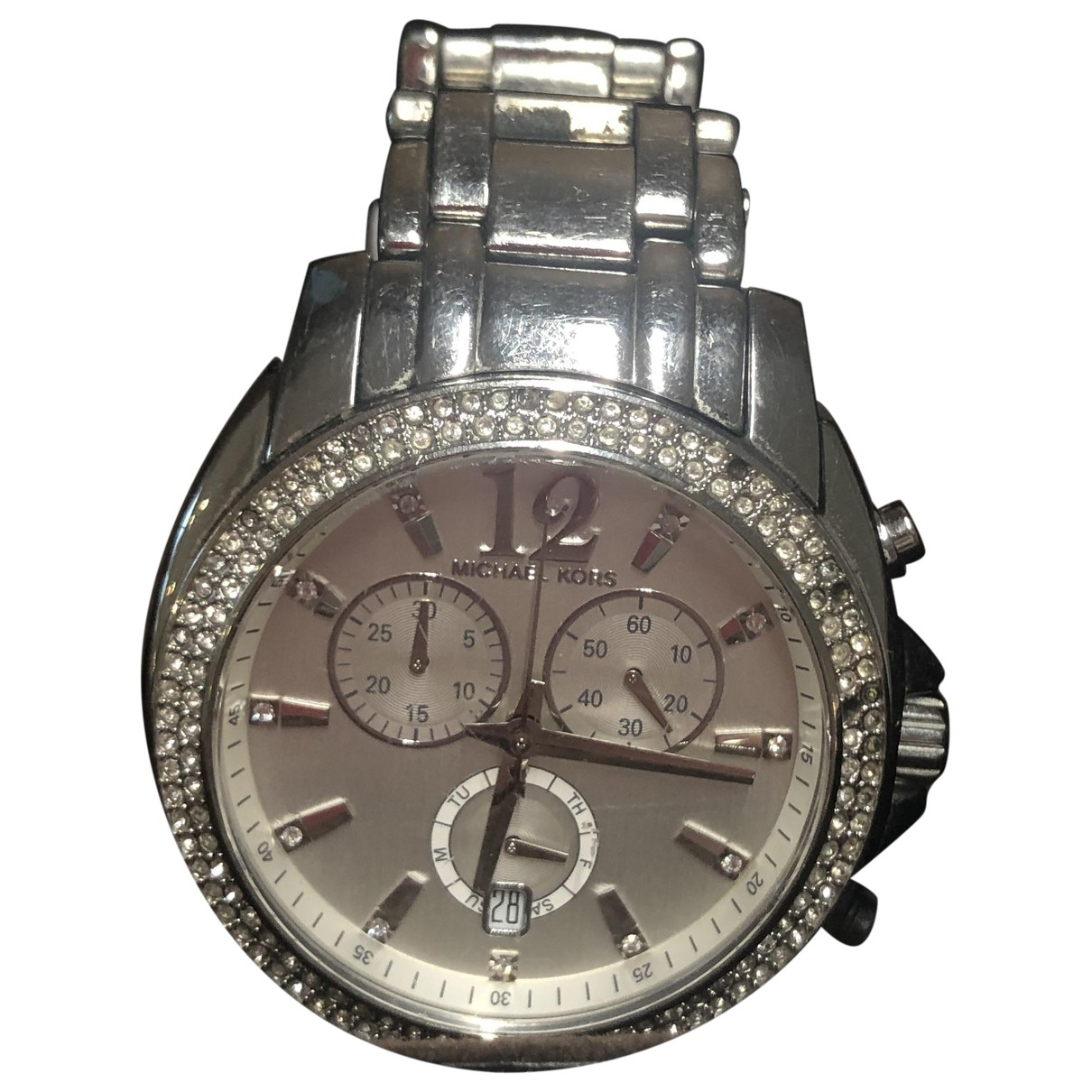 Michael Kors \N Metallic Steel watch for Women \N