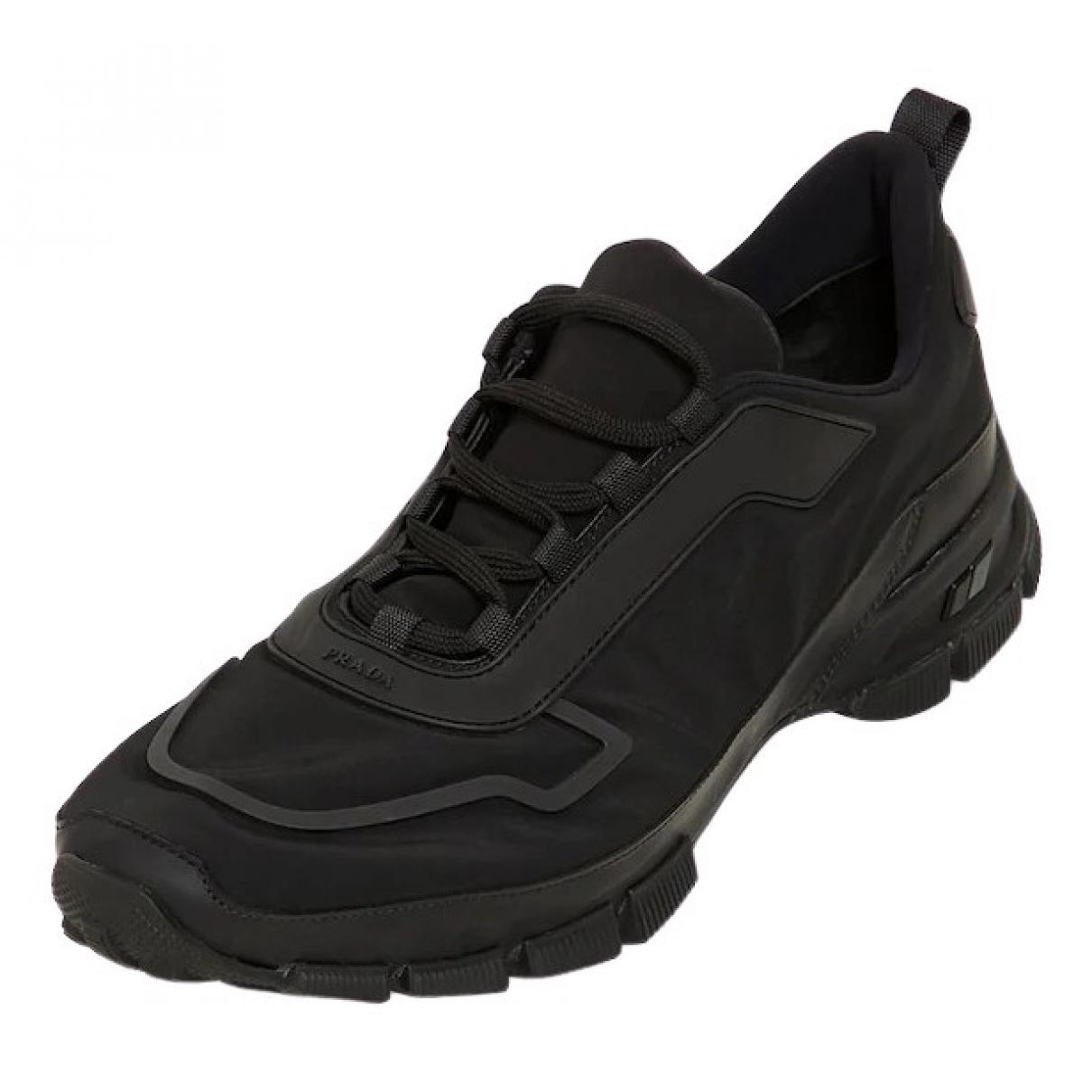 Prada \N Black Trainers for Men 7.5 UK