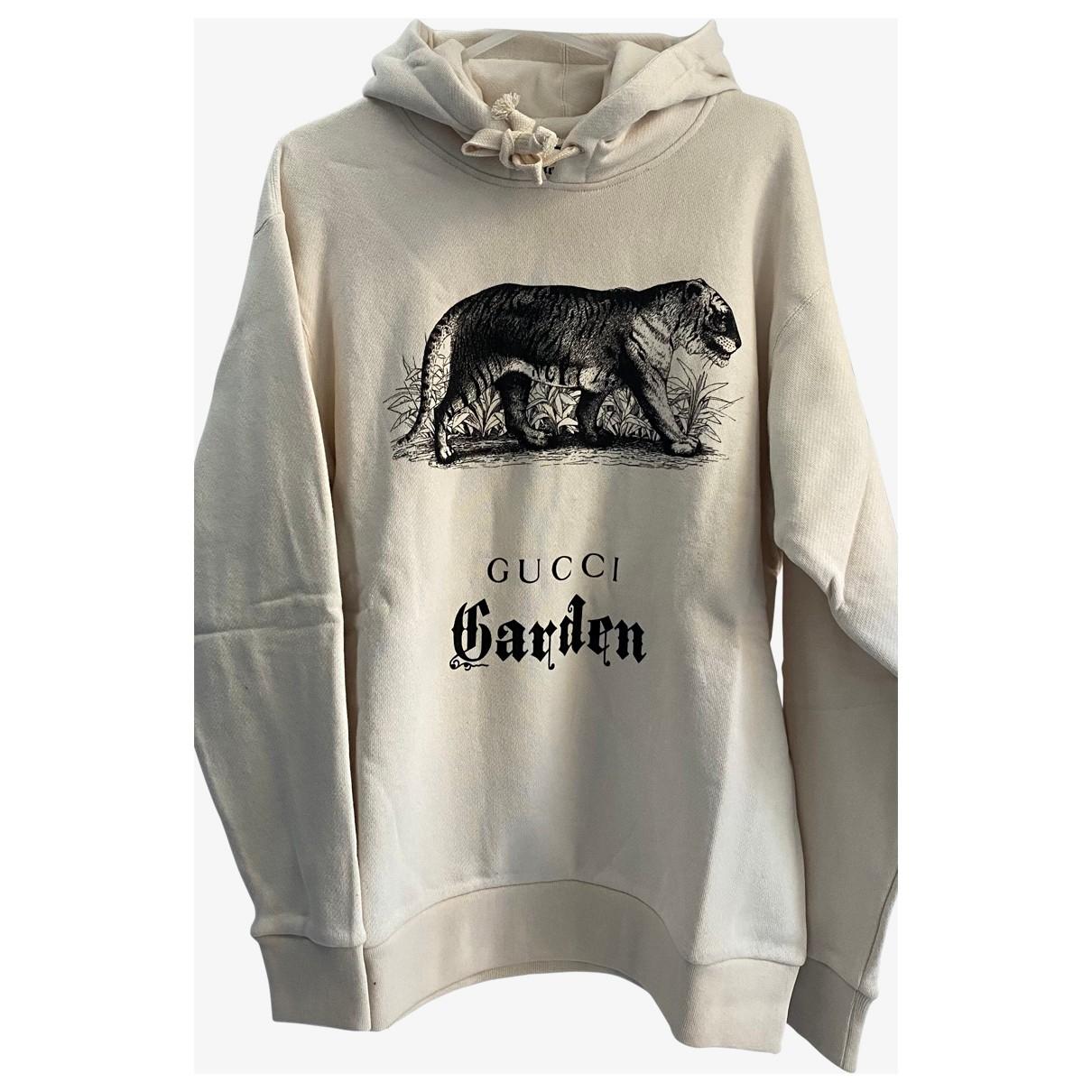 Gucci N Beige Cotton Knitwear for Women M International