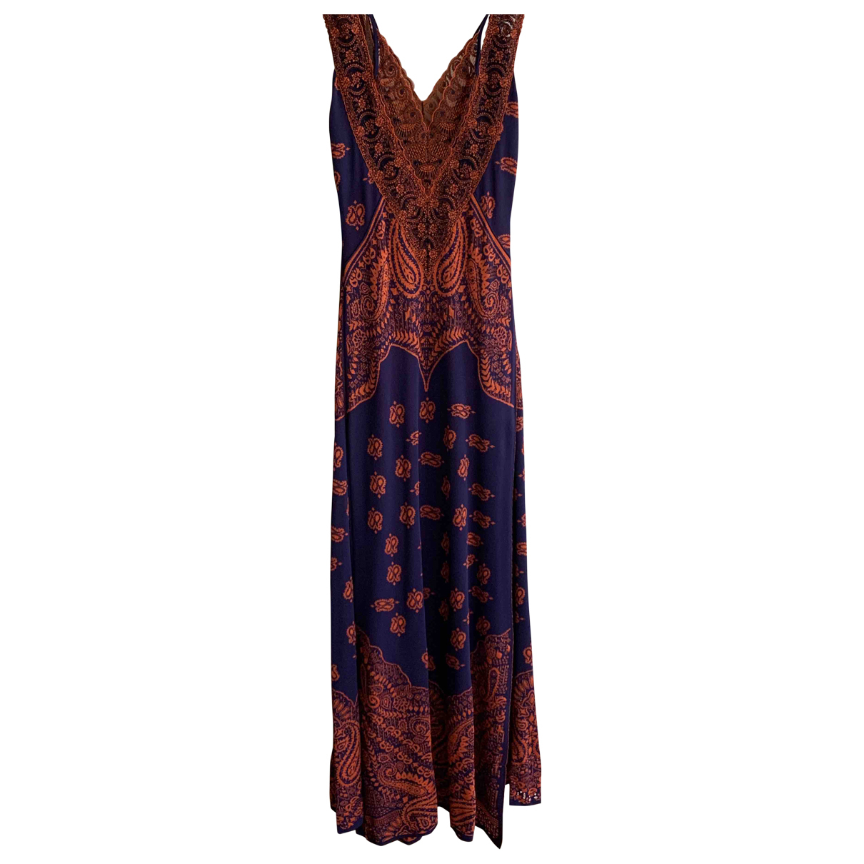 Roberto Cavalli \N Blue dress for Women 40 IT