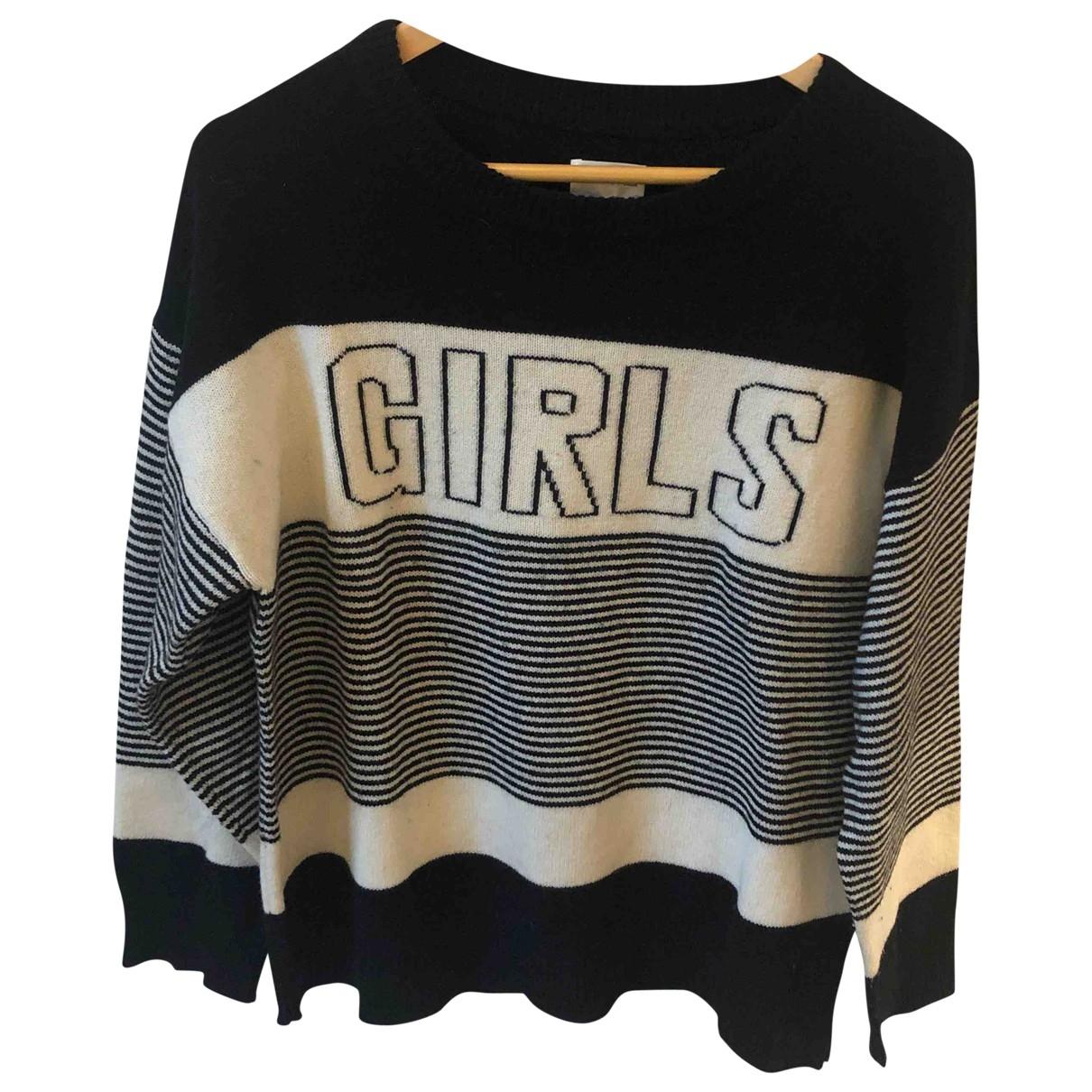 Gant Rugger \N Pullover in  Schwarz Wolle