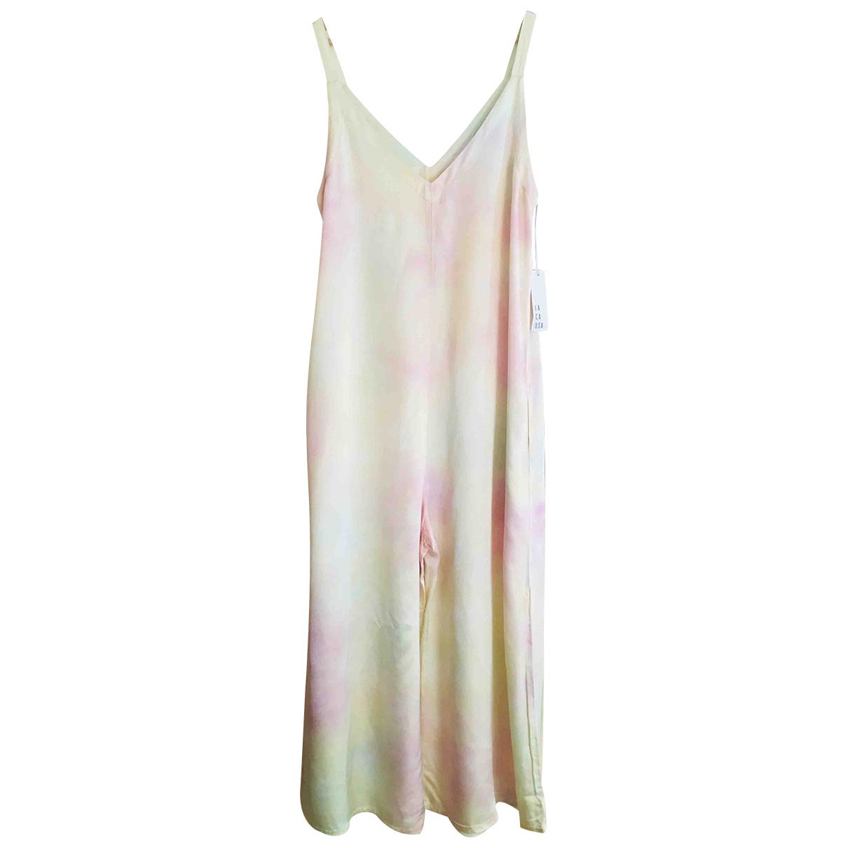 Non Signé / Unsigned Hippie Chic Multicolour jumpsuit for Women S International
