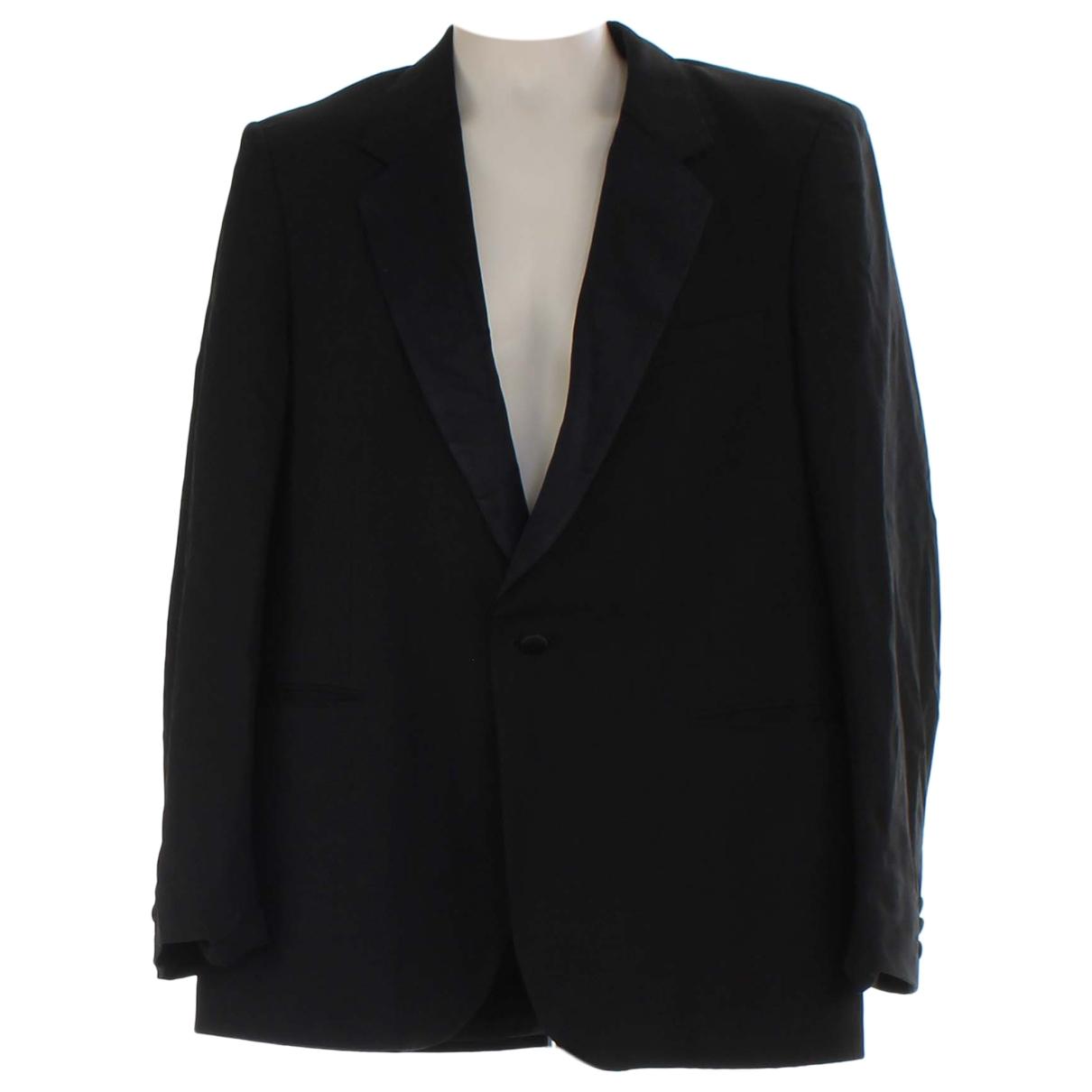 Aquascutum \N Black Wool jacket  for Men 40 UK - US