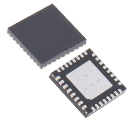 Maxim Integrated MAX11254ATJ+, 24 bit Serial ADC 6-Channel, 32-Pin TDFN-EP (60)