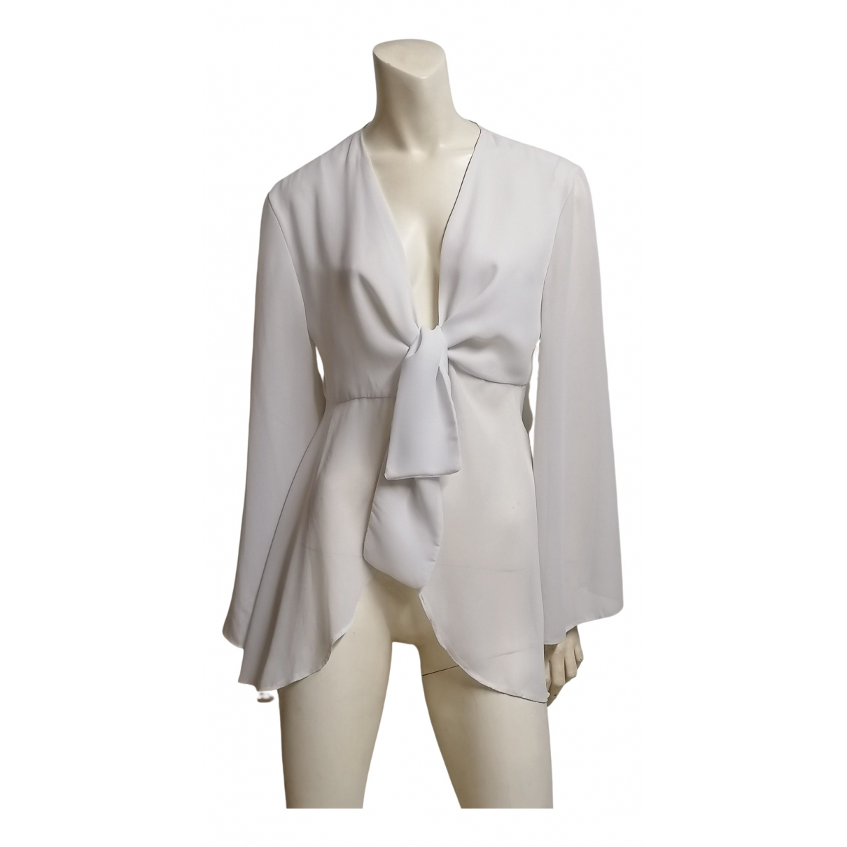 Non Signé / Unsigned \N White  top for Women One Size International