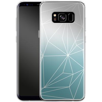 Samsung Galaxy S8 Silikon Handyhuelle - Simplicity 2 von Mareike Bohmer