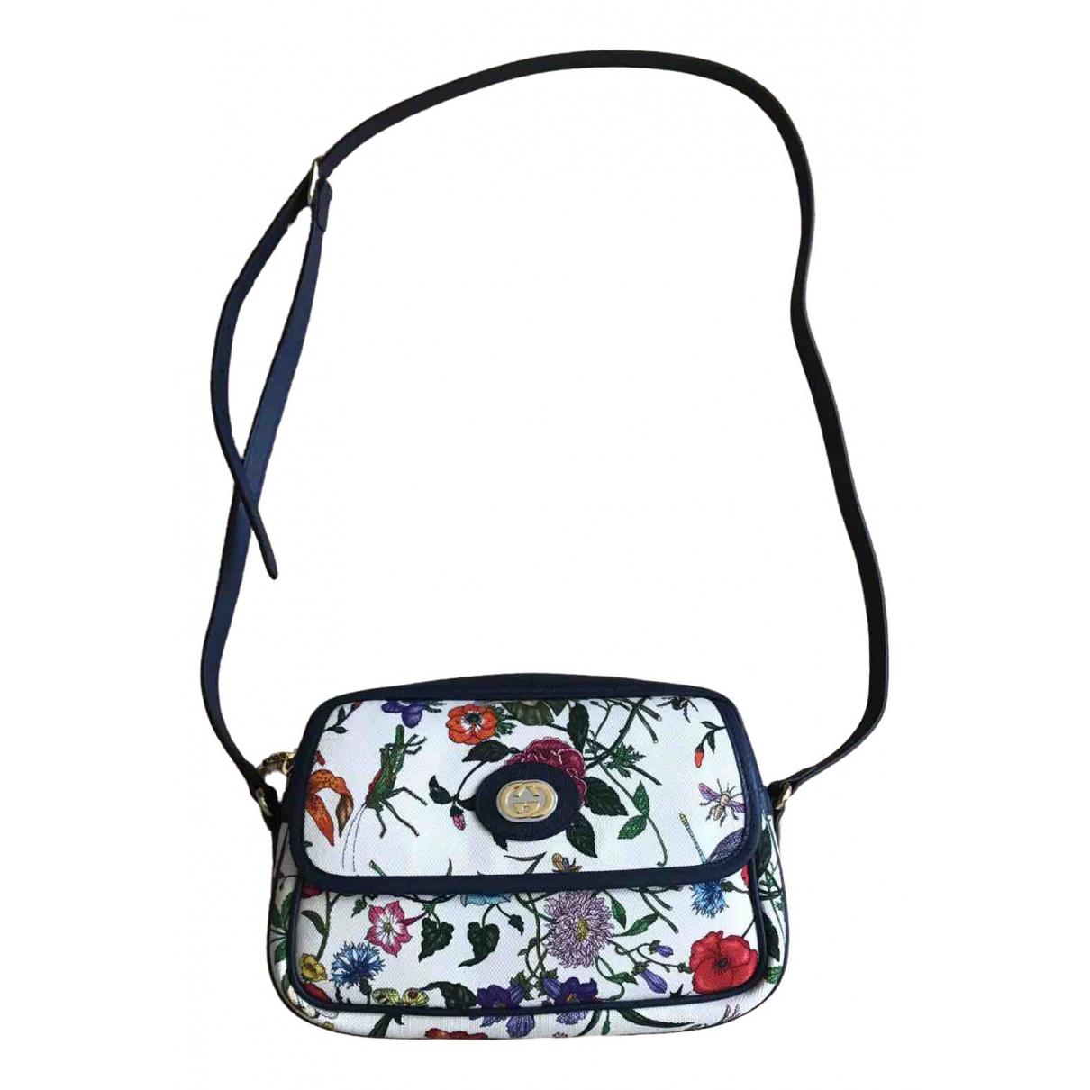 Gucci \N Ecru Cloth handbag for Women \N