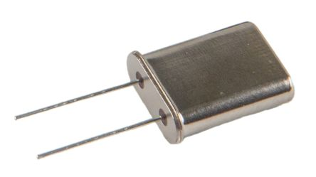 RS PRO 3.57MHz Crystal ±50ppm 2-Pin 11.05 x 4.65 x 13.49mm (20)
