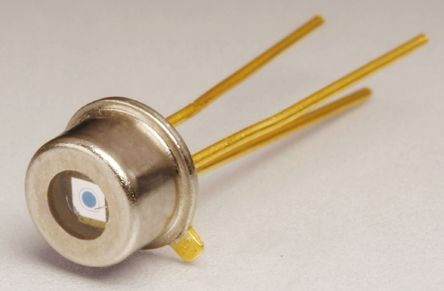 OSI Optoelectronics , FCI-InGaAs-120 InGaAs Photodiode, Through Hole TO-46