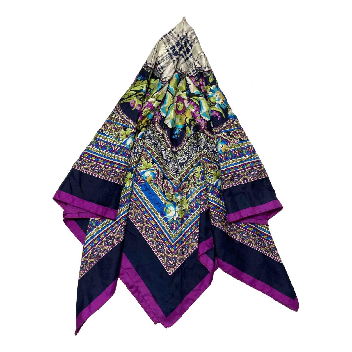 Courrèges \N Multicolour Silk scarf for Women \N