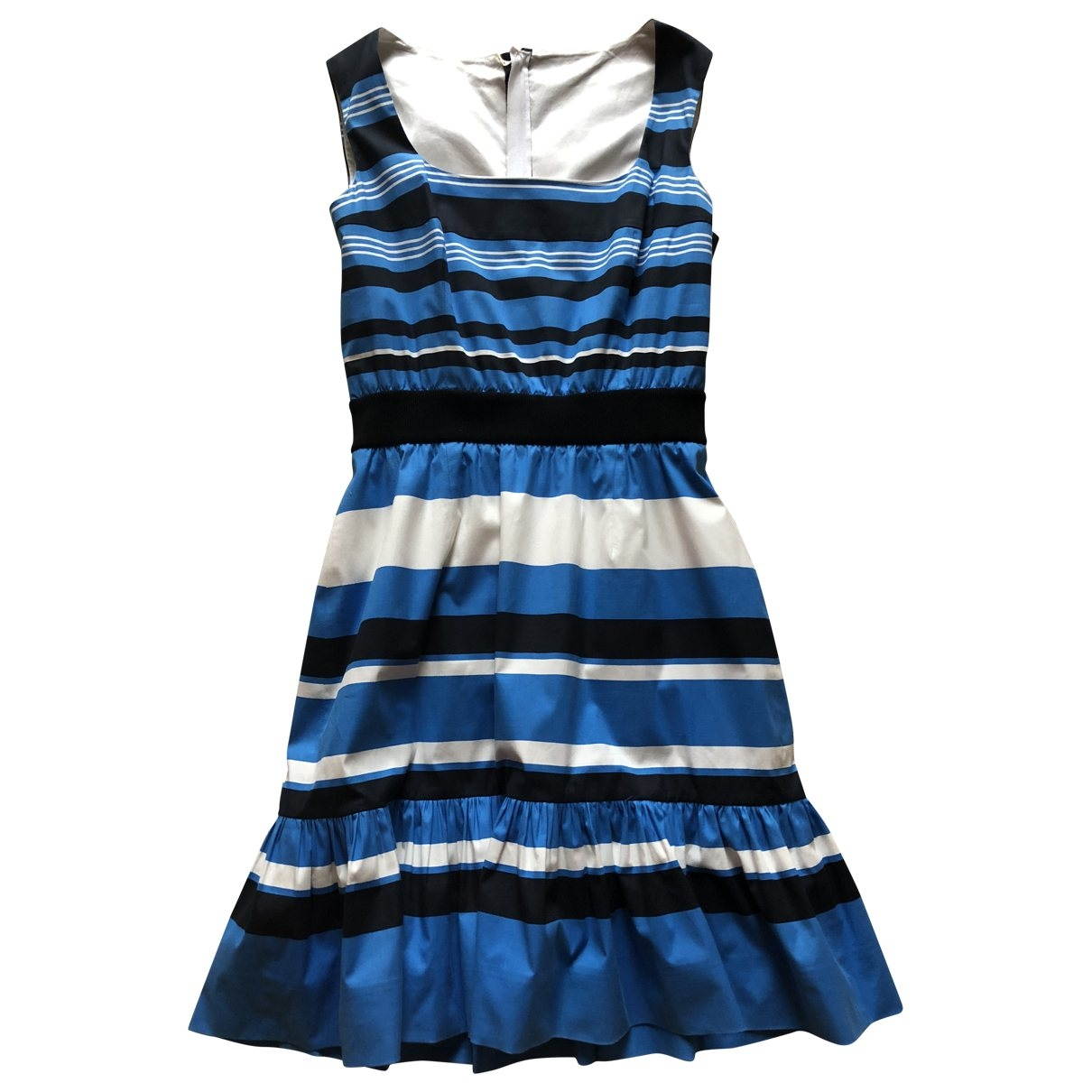 Prada \N Blue Cotton dress for Women 46 IT