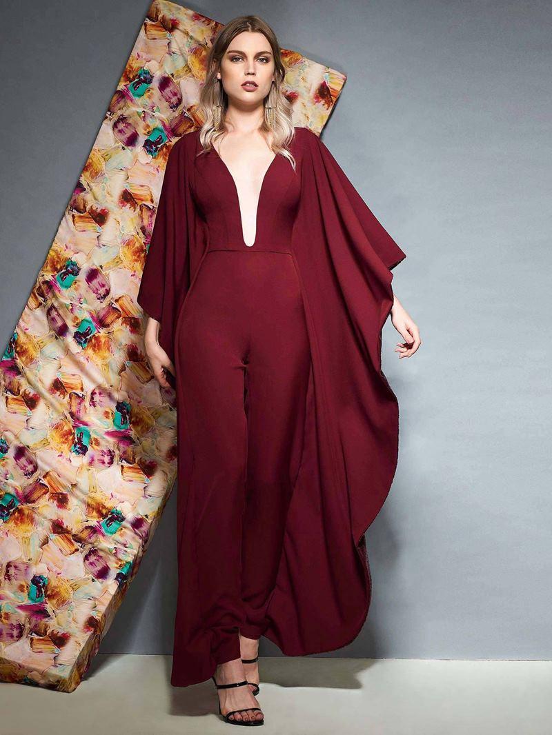 Ericdress V-Neck Sheath Sequins Evening Dress