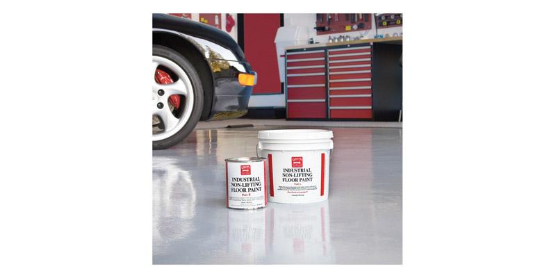Griots Garage Tan Floor Paint