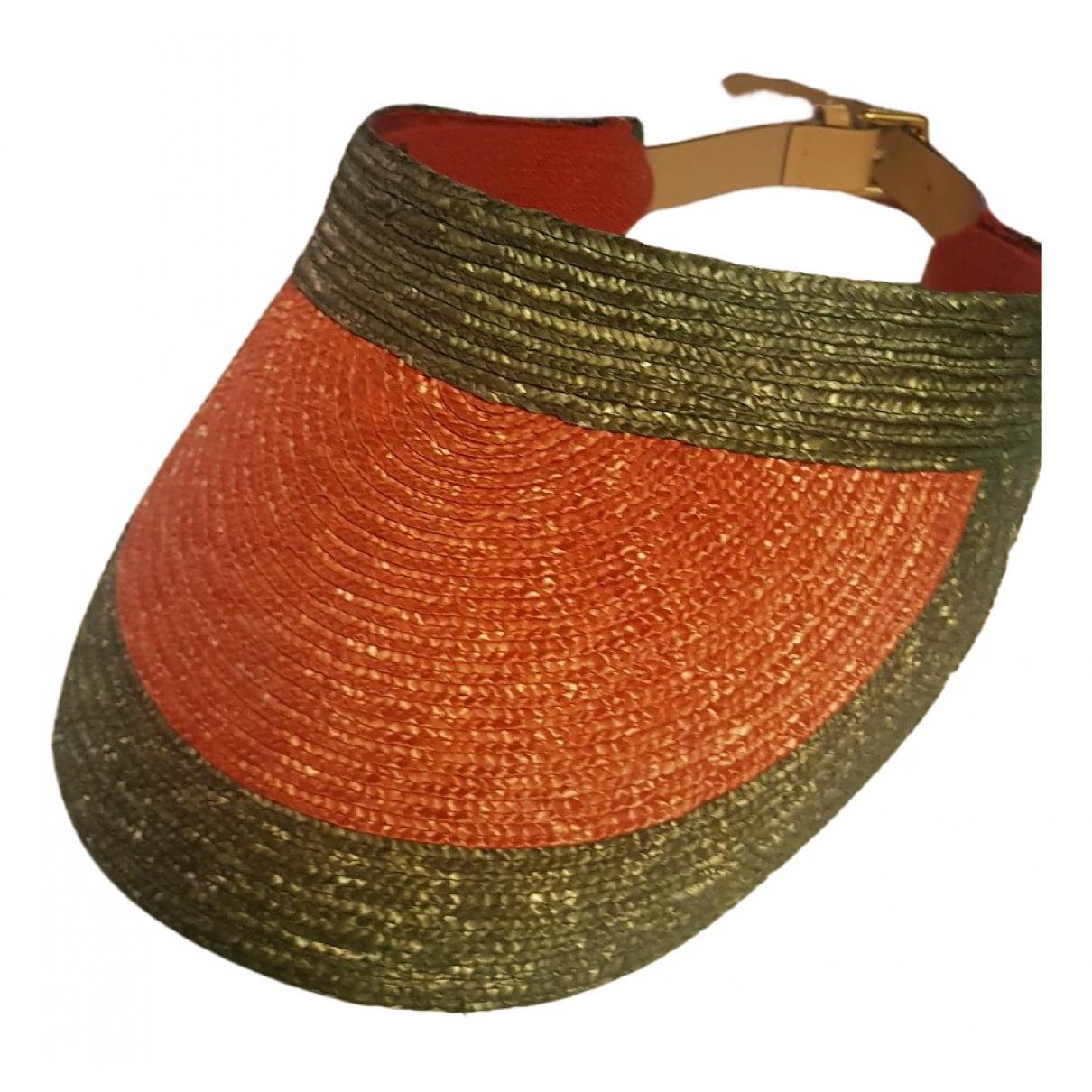 Gucci - Chapeau   pour femme en paille - multicolore