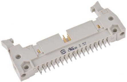 HARTING , SEK 18, 34 Way, 2 Row, Straight PCB Header