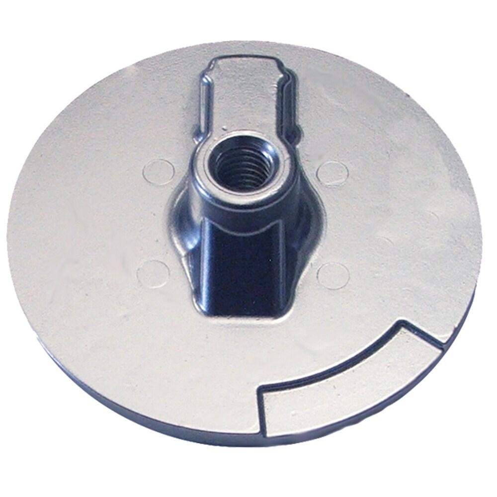 Tecnoseal Trim Plate Anode - Zinc Flat Mercury Alpha f/Engines