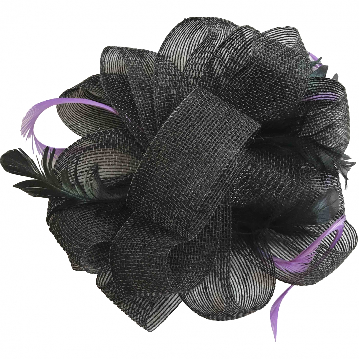 Non Signé / Unsigned \N Black Wicker hat for Women M International