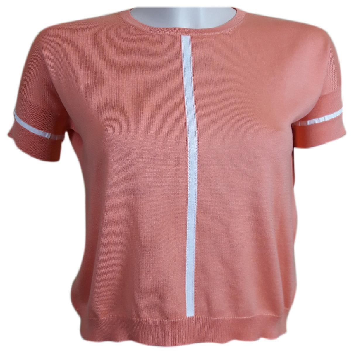 Cruciani - Pull   pour femme en coton - orange