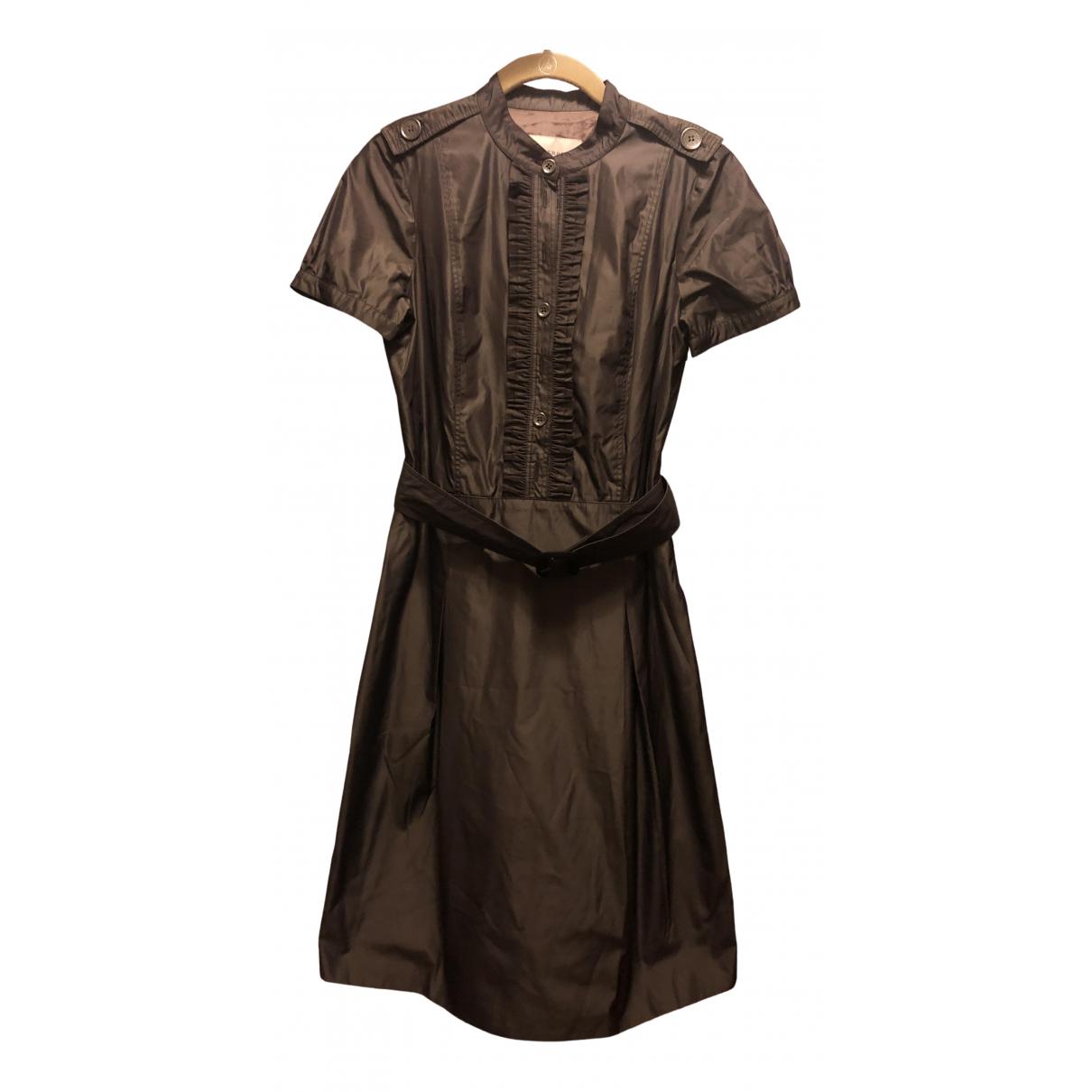Burberry \N Kleid in  Metallic Polyester