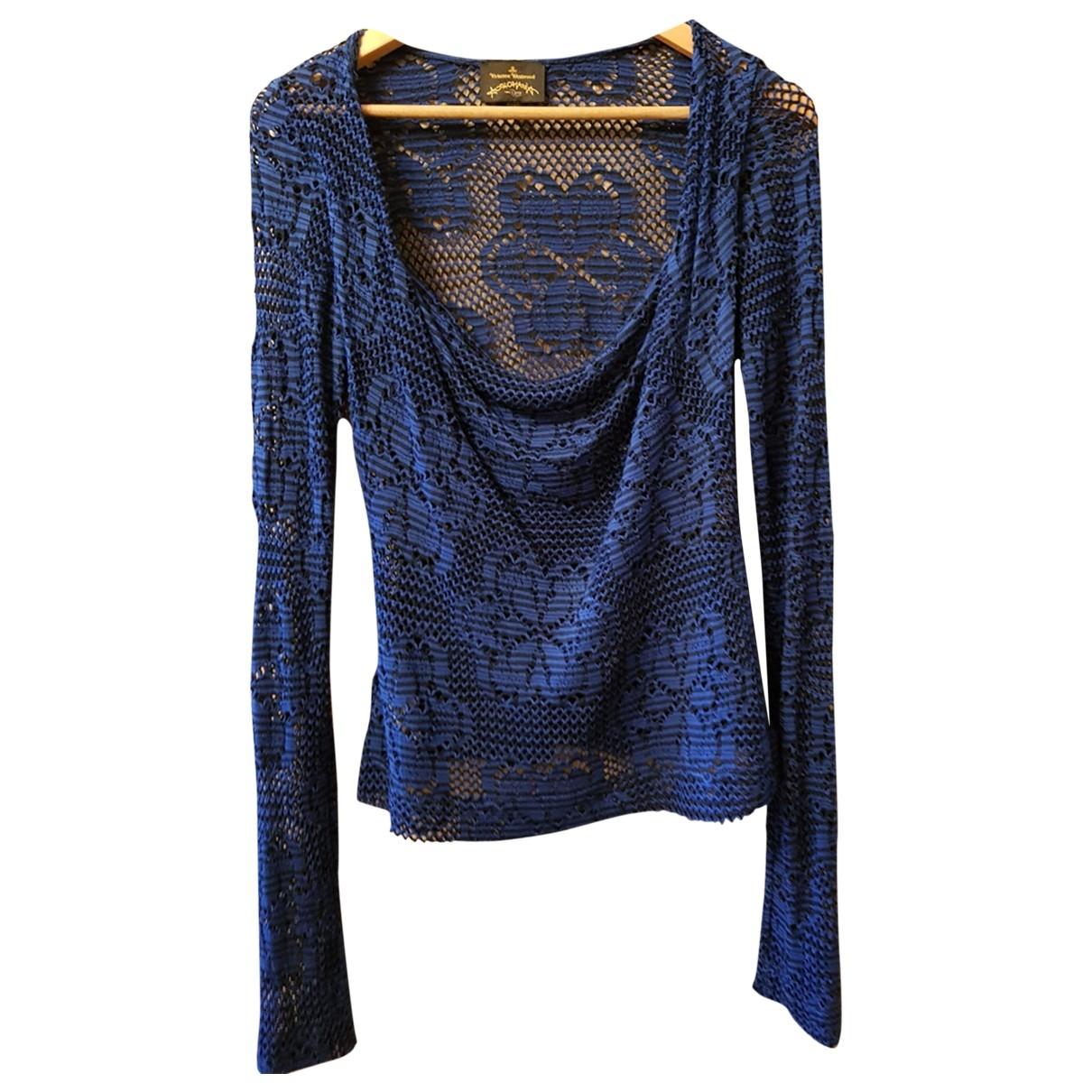 Vivienne Westwood Anglomania - Top   pour femme - bleu