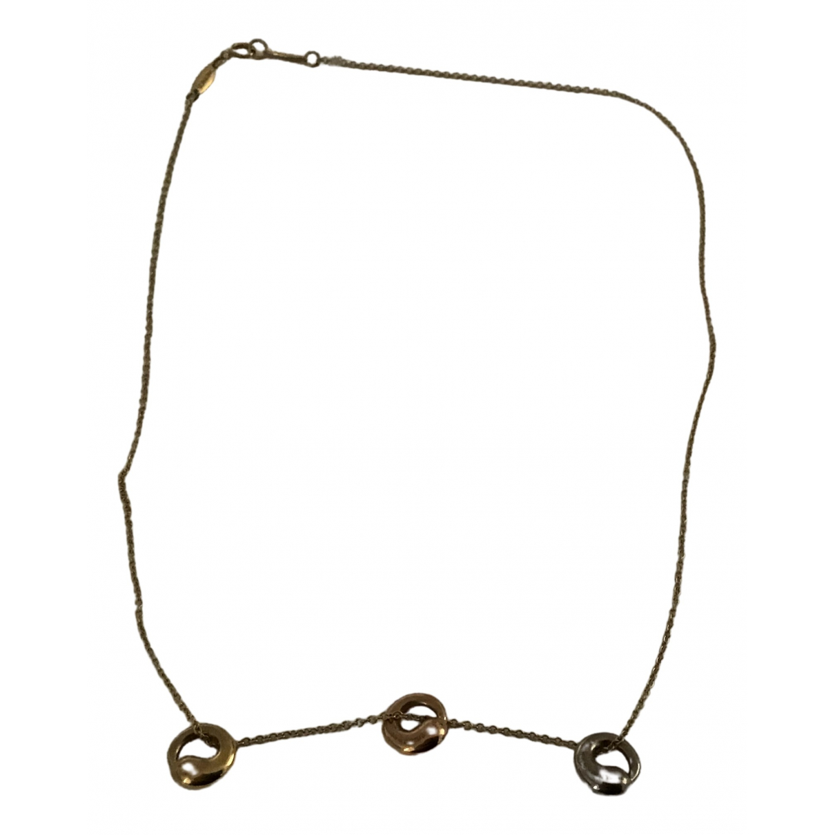 Tiffany & Co Elsa Peretti  Gold Yellow gold necklace for Women \N