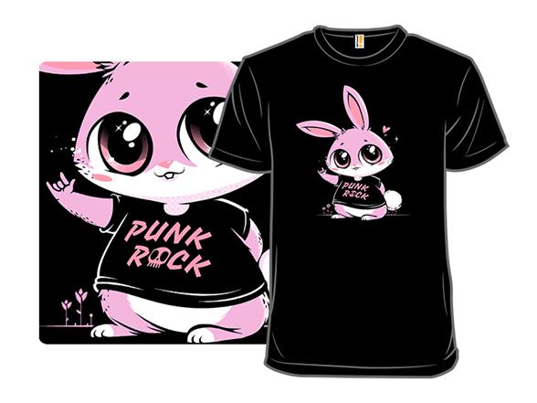 Punk Rock Bunny T Shirt
