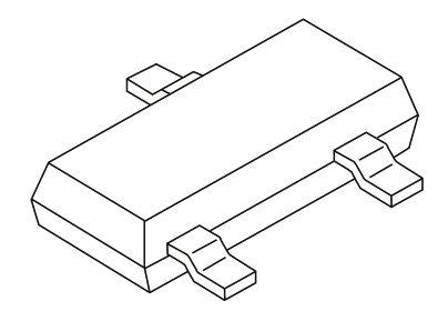 Vishay N-Channel MOSFET, 300 mA, 240 V, 3-Pin SOT-23  TN2404K-T1-GE3 (20)