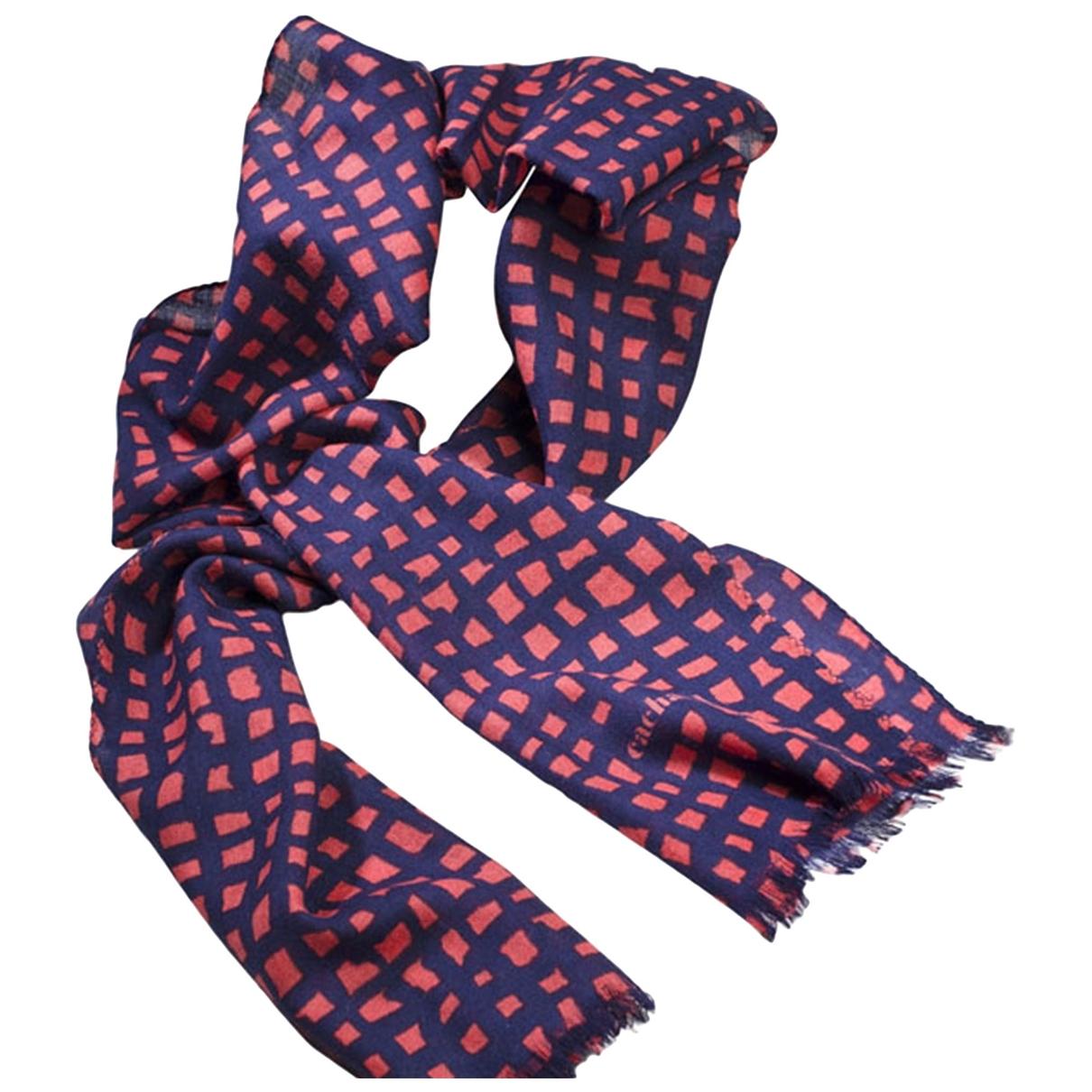 Cacharel - Foulard   pour femme en laine - noir