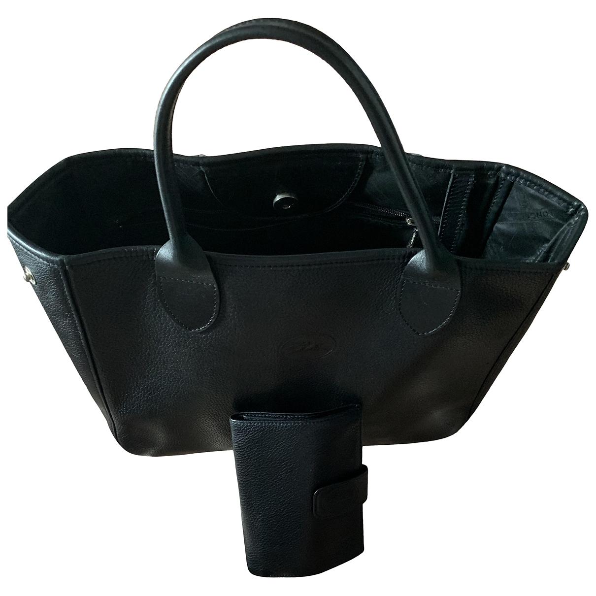 Bolso  de Cuero Longchamp