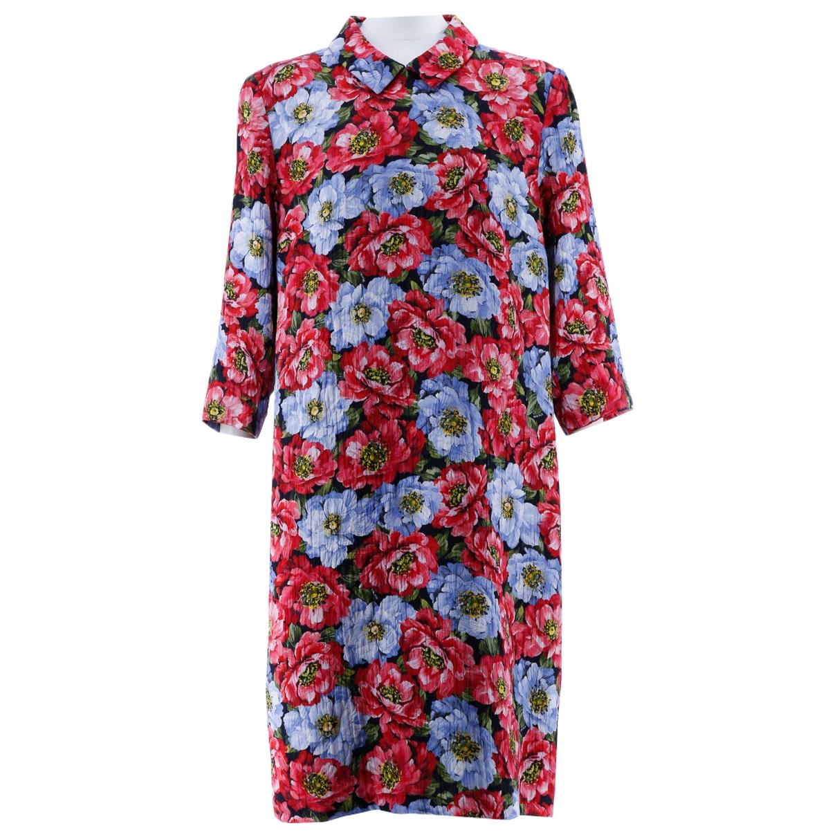 Escada - Robe   pour femme en coton - multicolore