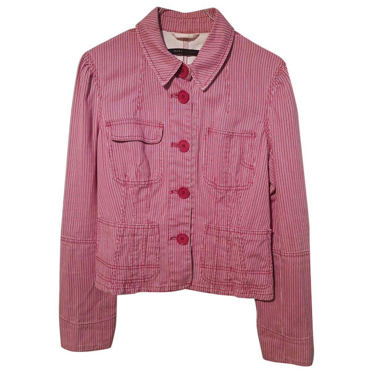 Marc Jacobs - Veste   pour femme en coton - rouge