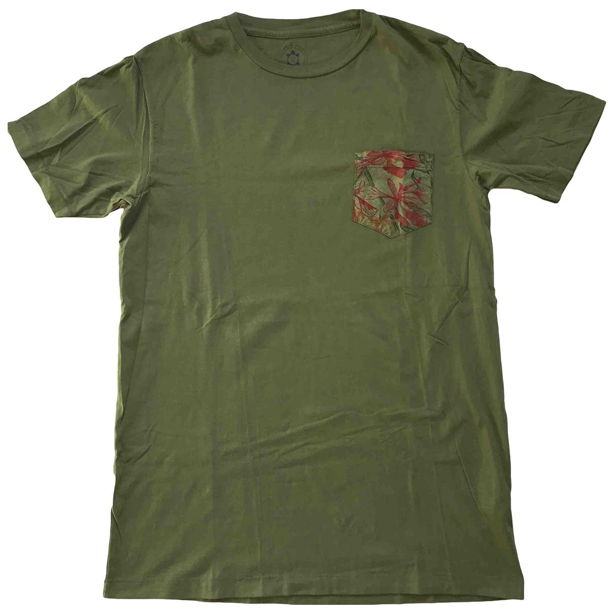 Slowear \N T-Shirts in  Gruen Baumwolle