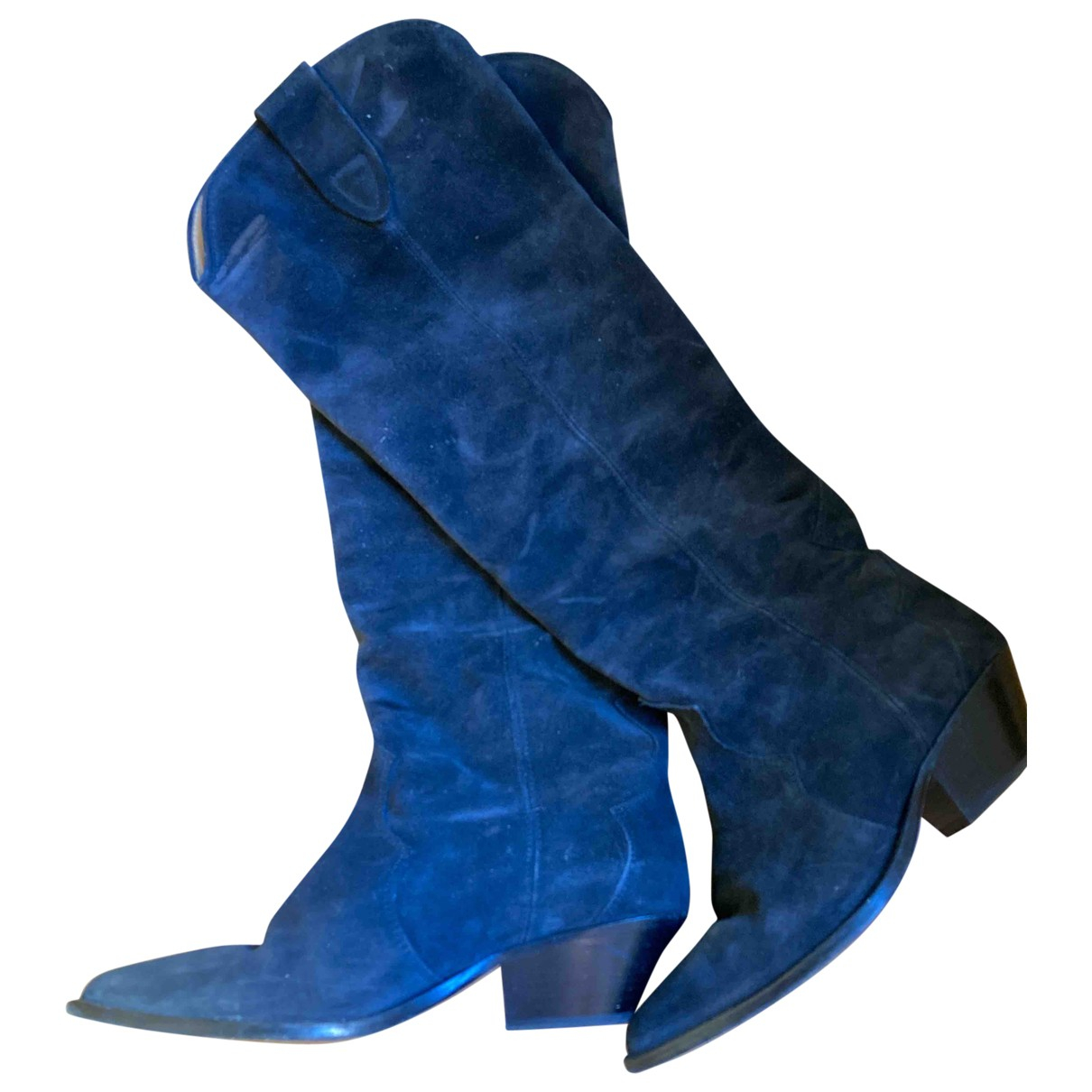 Isabel Marant \N Black Suede Boots for Women 39 EU
