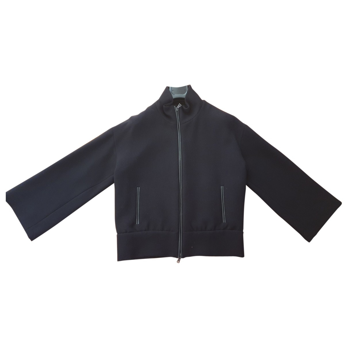 Prada \N Black Wool jacket for Women 46 IT