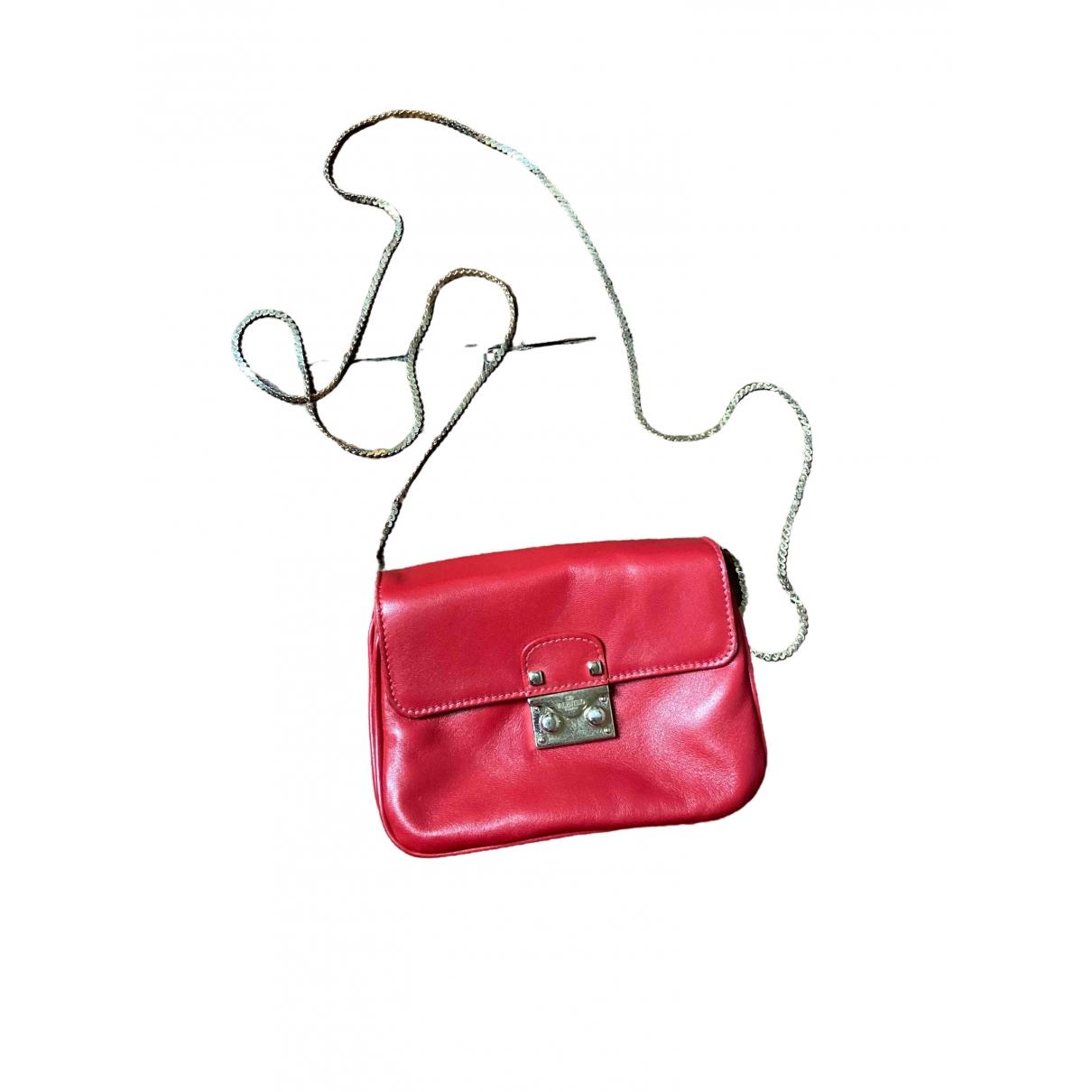 Valentino Garavani - Sac a main   pour femme en cuir - rouge