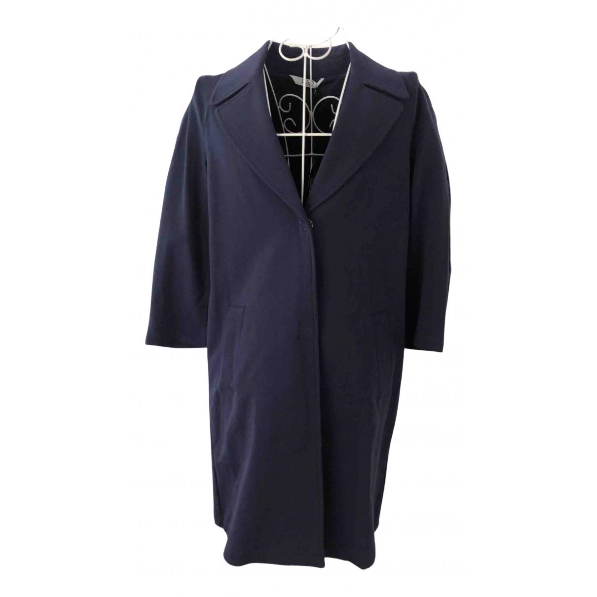 Liu.jo N Navy Cotton coat for Women XS International