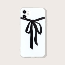 Bow Print iPhone Case