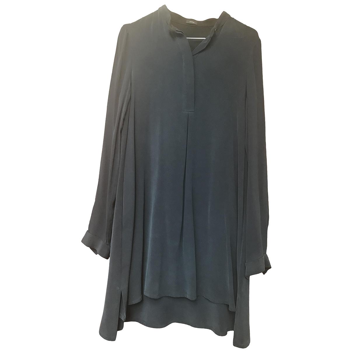 Joseph \N Blue Silk dress for Women 36 FR
