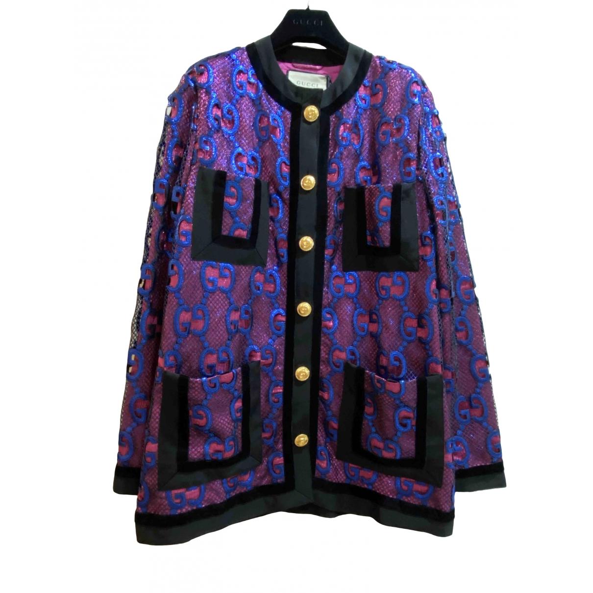 Gucci \N Metallic jacket for Women 40 IT