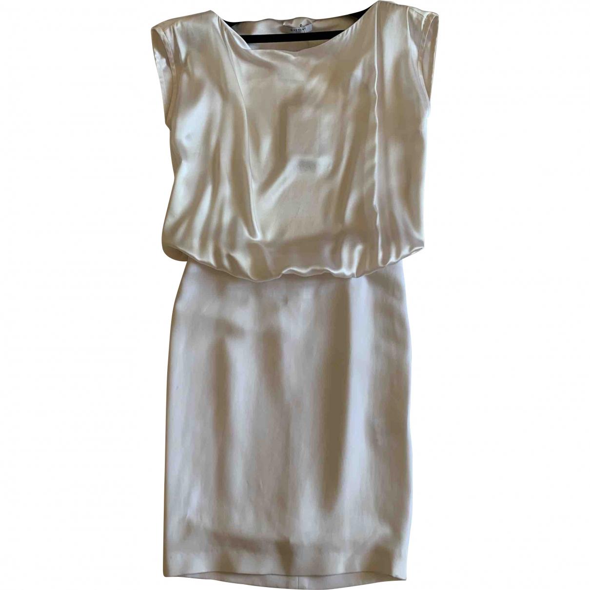 Givenchy \N White Silk dress for Women 38 FR